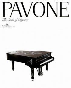 ラグジュアリーマガジン『PAVONE』に紹介されました
